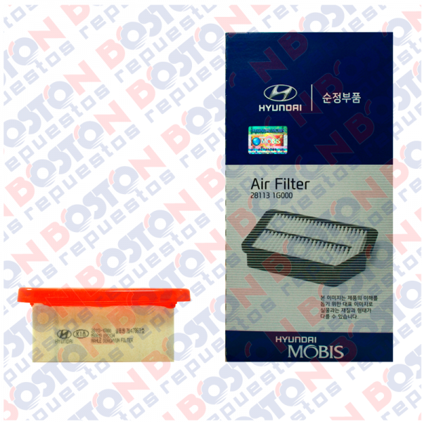 Filtro aire original new Accent bencina 281131G000