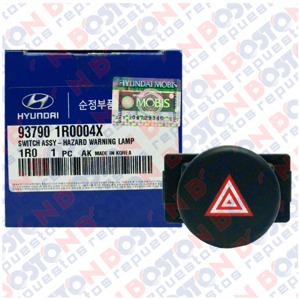 Switch Hazard (luces de emergencia) Hyundai Accent 2012