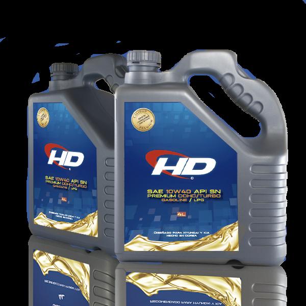 Aceite HD 10w40 4LT con filtro
